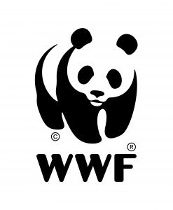 WWF logo mit Isolation Area